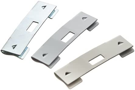 36 Pack Vertical Blind Don't miss the campaign Vane Saver Repair Curved Clips Max 59% OFF White ~