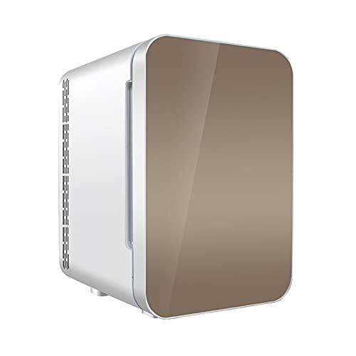 Mini-Frigoríficos Refrigerador de Coche 20L calefacción y refrigeración refrigerador Compacto refrigerador pequeño para el hogar refrigerador portátil portátil,Gold,Single Core