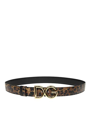 Luxury Fashion | Dolce E Gabbana Donna BE1333AZ830HA93M Marrone Cintura | Autunno Inverno 19