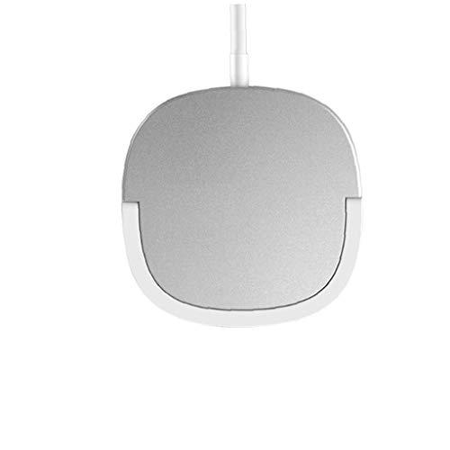 nJiaMe Cargador inalámbrico 15W Anillo magnético del Soporte de Carga rápida de Plata Cargador Compatible con el iPhone 12 Compatible para el teléfono