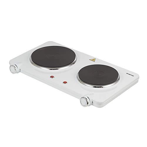 Inventum KP602W 2-Pits Elektrische Kookplaat Wit
