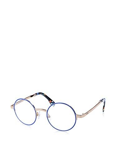 Fendi FF 0091 D43/21 -47 -21 -140 Fendi Brillengestelle FF 0091 D43/21 -47 -21 -140 Rund Brillengestelle 47, Blau