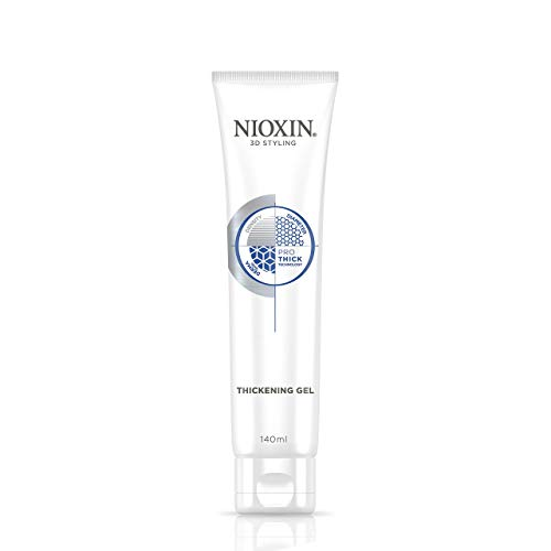 Nioxin 3D Styling Hair Thickening Gel, Strong Hold and Texture, 5.13 Oz