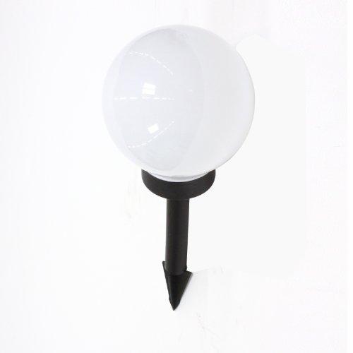 Lampada solare sferica da giardino - A tecnologia LED - Con sensore solare