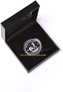 2017 ZA Silver Proof 2017 1 oz Silver Proof Krugerrand South African 15000 Minted Number 8607 $1 Proof