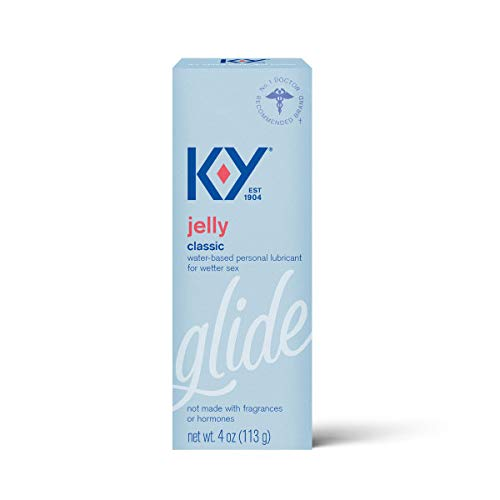 K-Y Jelly Premium Water Based Lube- Personal Lubricant Safe To Use With Latex Condoms, Devices, Sex...
