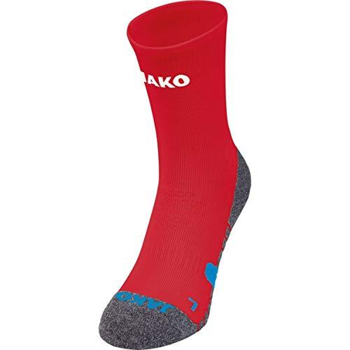 JAKO Unisex Trainingssocken Socken, sportrot, 5 (43-46)