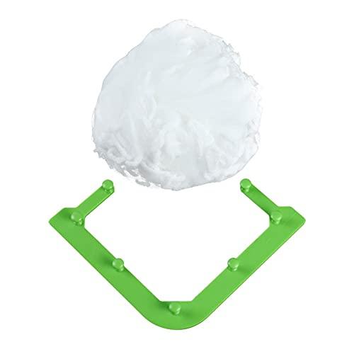 Bolsa de fregadero de malla | Triángulo Tri-Holder Filtro, filtro para fregadero con red desechable, red colgante para soporte de drenaje, filtro restante, cfábrica filtro (50 unidades)