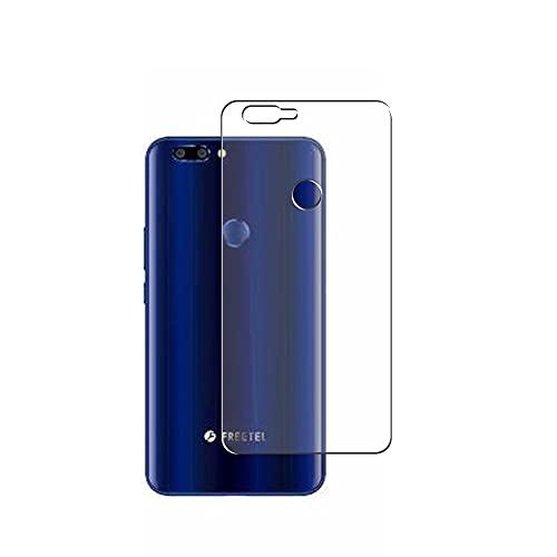 VacFun 2 Piezas Protector de pantalla Posterior, compatible con FREETEL REI2 Dual FTJ17A00 REI 2, Película de Trasera de TPU Skin Piel