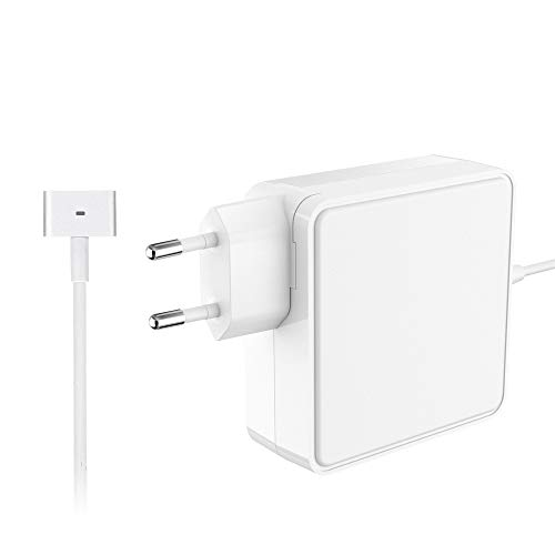 SIMPFUN MacBook Pro Ladegerät 60W MagSafe 2 T Form Netzteil mit Apple MacBook Pro mit 13-Zoll Retina Display (ab Ende 2012) Modell A1435/A1465/A1502/MD212/MD213/MD662