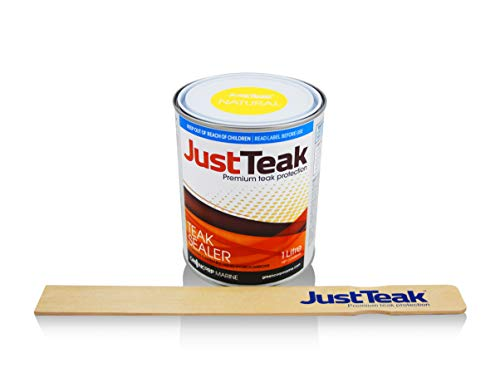JustTeak Natural Teak Sealer 1L (1.056 Quart)