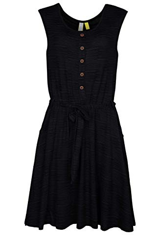 Alife and Kickin ScarlettAK Dress Damen Kleid Freizeitkleid (Moonless, XXL)