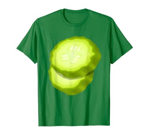 Hamburguesa de pepino Encurtidos Verduras a juego Hamburguesa Camiseta