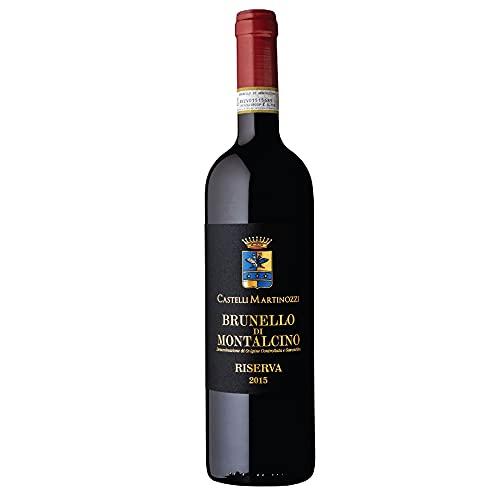 Brunello di Montalcino DOCG Riserva 2015 Castelli Martinozzi Vino Rosso Toscana Sangiovese regalo gift annata Made in Italy