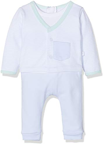 Absorba Baby-Jungen 7p32061-ra Combinaison Spieler, Blau (Light Blue 41), 18-24 Monate (Herstellergröße: 6M)