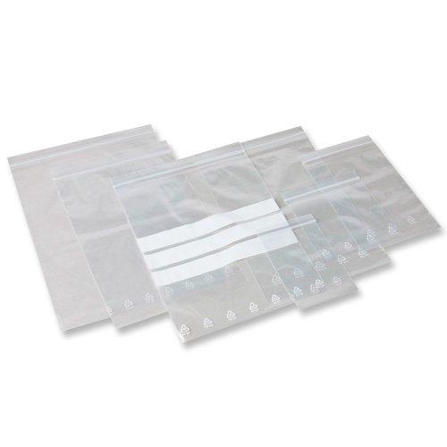 3000 Druckverschlußbeutel 120 x 170 - 50 mµ LDPE VERPAX