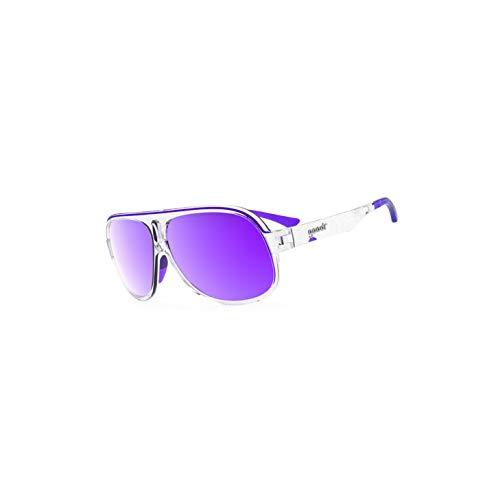Goodr Super Fly Sonnenbrille, rutschfest, ohne Sprungkraft, polarisiert, Herren, Sleazy Riders, Einheitsgröße