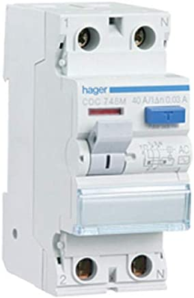 Hager CDC728M Interruptor Diferencial Tipo AC 2P 25A 30mA
