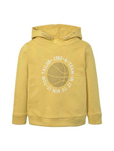 TOM TAILOR Kids Jungen Placed Print Sweatshirt, Gelb (Lucious Yellow|Yellow 4612), 116 (Herstellergröße: 116/122)