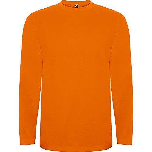 ROLY Camiseta Extreme 1217 Niño Manga Larga Naranja 31 9/10