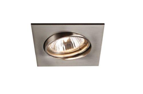 Massive 594901750 intérieur GU10 75 W Chrome spot de lumière – Spot de lumière (intérieur, encastré, GU10, halogène, blanc chaud, chambre, salon)
