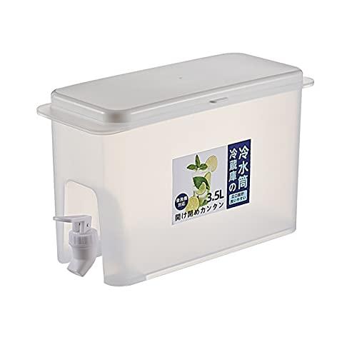 LOULE Botella de agua fría para el hogar, dispensador de agua para hielo, material de grado alimenticio es seguro y saludable, tanque de agua de 3.5 de gran capacidad, adecuado para fiestas, diario