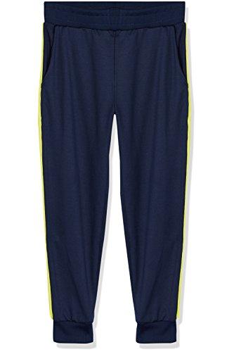 RED WAGON Jungen Sporthose Jogginghose mit Streifen, Blau (Navy/Citrine), 116 (Herstellergröße: 6 Jahre)