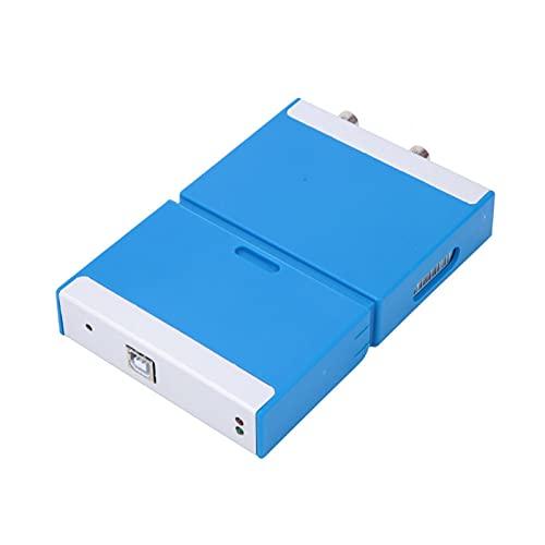 Osciloscopio virtual portátil de doble canal osciloscopio con cable de ordenador USB para teléfono Android PC equipo depuración para electricista