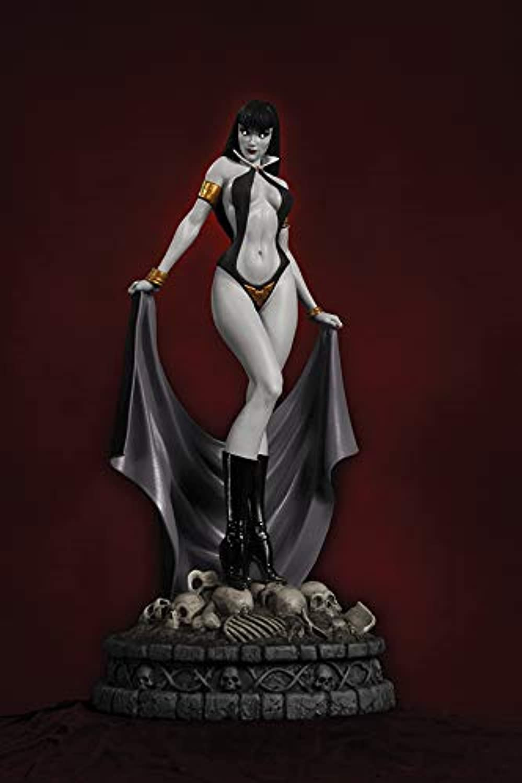 Women of Dynamite  Vampirella (Black & White Diamond Eye Edition) Statue