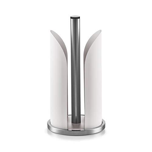 Zeller 27192 Küchenrollenhalter, 15 x 15 x 30,5 cm, grau, Metall