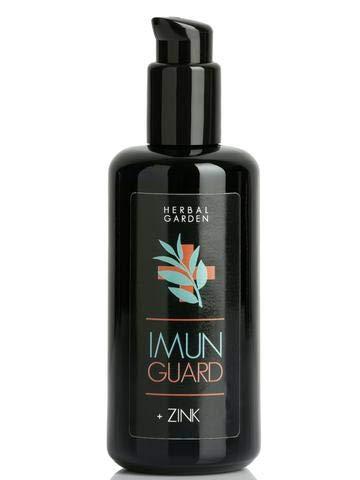 Healing Garden Tenerife - Imun Guard Extract of Volcanic Cistus, Mizudashi, Nigella Sativa and Zinc - organically Grown.
