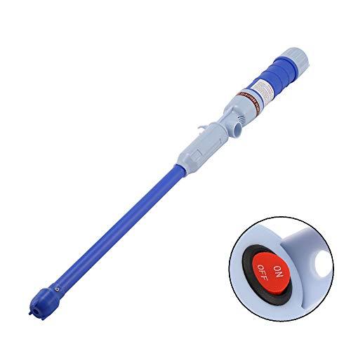ALLOMN Elektrische Ölpumpe Wasserpumpe Außenkraftstoffförderung Saugpumpen Flüssigkeitsübertragung Hand Batteriebetriebene Automatische Pumpe für Nicht Korrosive Flüssigkeiten (Blau)