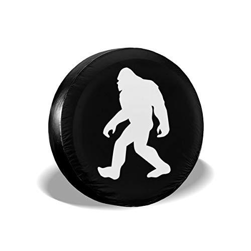 Foruidea Bigfoot Sasquatch - Cubierta de repuesto para neumáticos de coche, impermeable, a prueba de polvo, UV, para Jeep, remolque, RV, SUV y muchos vehículos de 15 pulgadas