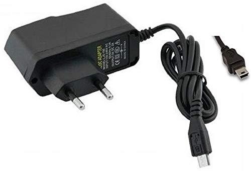 CARGADOR ESP Cargador Corriente 5V Mini USB Compatible con Reemplazo para Vigilabebes Motorola MBP31 Exclusivo para la Unidad del Bebe Recambio Replacement