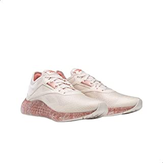 Reebok Flashfilm 3.0 Textile Patterned Sole Lace-up Running Shoes for Women 38.5 EU