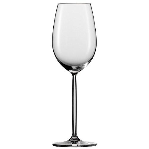 Schott Zwiesel Diva Weinkelch 2, 2er Set, im Geschenkkarton, Weißweinglas, Weinbecher, Glas, 300 ml, 104593