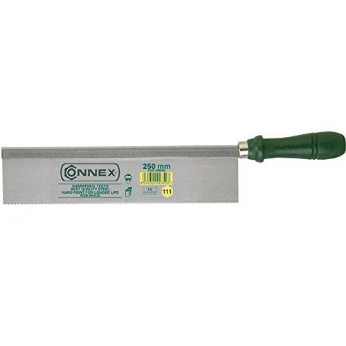 Connex COX809250 - Serrucho de costilla (250 mm, dientes afilados y endurecidos)