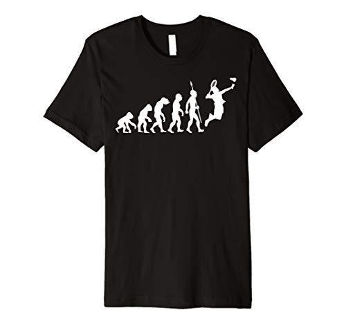 Badminton Evolution Federball T-Shirt Spieler Mannschaft