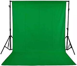 Croma Green LEKERA Backdrop Photo Light Studio Photography Background for TikTok, YouTube, Studio,Indoor-Outdoor Photography Shooting Purpose(8 × 12ft.)
