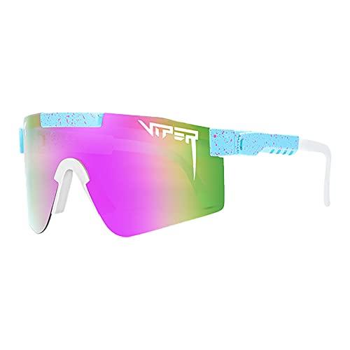 Gafas de sol deportivas polarizadas para hombres y mujeres, gafas de ciclismo, gafas de aire libre a prueba de viento, escalada, senderismo, correr, vacaciones