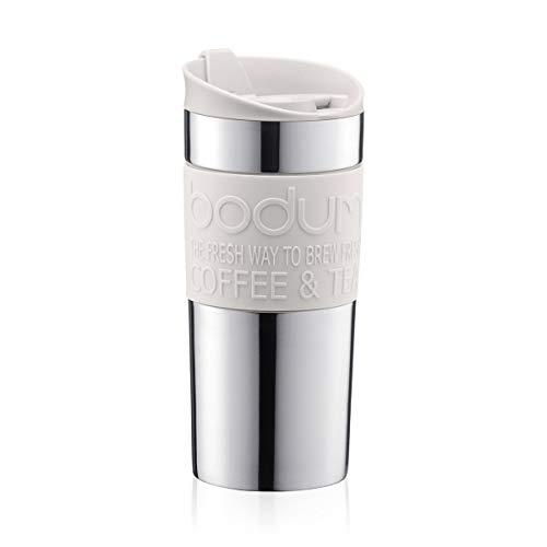 Bodum - Taza térmica de viaje, Marfin, 350 ml