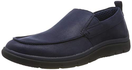 Clarks Herren Tunsil Way Slipper, Blau (Navy), 41.5 EU