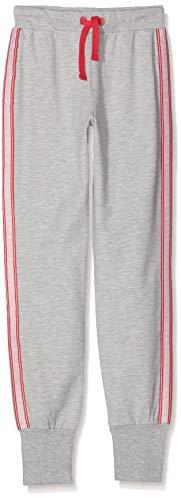 ESPRIT KIDS Mädchen RP2300507 Sweatshirt Pant Sporthose, Grau (Heather Silver 223), 164 (Herstellergröße: L)