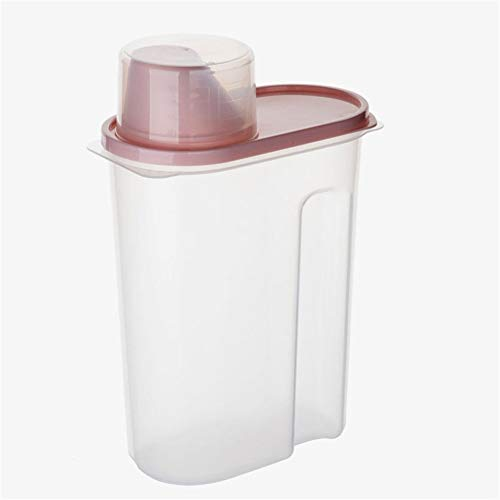 Wasmiddel Container Storage Box Huishoudelijke Box Jar Barreled Deksel Vial Jar Storage Box (Color : B, Size : 27.5 * 15 * 8.5cm)