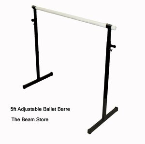 The Beam Store 5ft Adjustable Height Ballet Barre