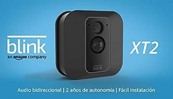 Blink XT2 (2. Gen) | Cámara de seguridad inteligente, exteriores e interiores, almacenamiento en el Cloud, audio...