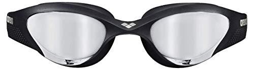 ARENA Unisex– Erwachsene Schwimmbrille The One Mirror, Silver-Black-Black, TU