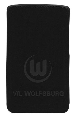 Trendwerk77 GmbH iCandy Sport WOL2465 - Fodera in Neoprene SoftTouch per Smartphone VFL Wolfsburg