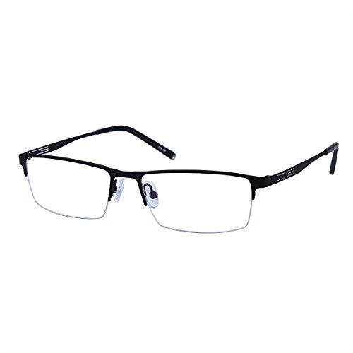 Southern Seas nearsighted miopía distancia medio borde gafas en 4colores (-0.50a -6.00puntos fuertes)