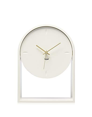 Kartell Air du Temps, Orologio, Bianco